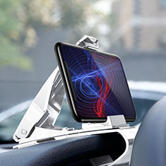 Supporto Sostegno Cellulari Con Ventosa Da Auto Universale T03 per Apple iPhone 11 Pro Bianco