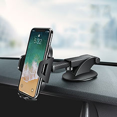 Supporto Sostegno Cellulari Con Ventosa Da Auto Universale Z03 per Motorola Moto One Fusion Nero