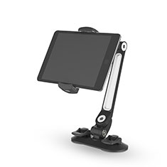 Supporto Tablet PC Flessibile Sostegno Tablet Universale H02 per Samsung Galaxy Tab Pro 8.4 T320 T321 T325 Nero