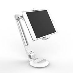 Supporto Tablet PC Flessibile Sostegno Tablet Universale H04 per Samsung Galaxy Note 10.1 2014 SM-P600 Bianco
