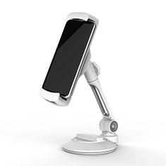 Supporto Tablet PC Flessibile Sostegno Tablet Universale H05 per Xiaomi Mi Pad 4 Bianco