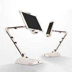Supporto Tablet PC Flessibile Sostegno Tablet Universale H07 per Samsung Galaxy Tab S 10.5 SM-T800 Bianco