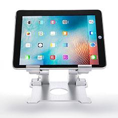 Supporto Tablet PC Flessibile Sostegno Tablet Universale H09 per Samsung Galaxy Tab Pro 10.1 T520 T521 Bianco