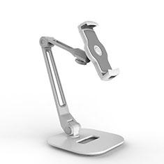 Supporto Tablet PC Flessibile Sostegno Tablet Universale H10 per Apple iPad 2 Bianco