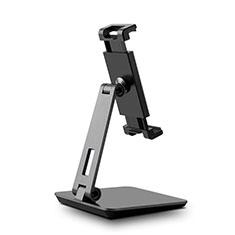 Supporto Tablet PC Flessibile Sostegno Tablet Universale K06 per Samsung Galaxy Tab S7 Plus 12.4 Wi-Fi SM-T970 Nero