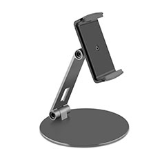 Supporto Tablet PC Flessibile Sostegno Tablet Universale K10 per Samsung Galaxy Tab S7 Plus 5G 12.4 SM-T976 Nero