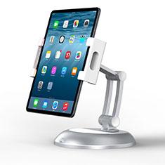 Supporto Tablet PC Flessibile Sostegno Tablet Universale K11 per Apple iPad 3 Argento