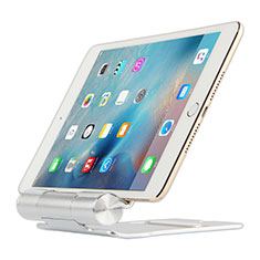Supporto Tablet PC Flessibile Sostegno Tablet Universale K14 per Apple iPad Air 3 Argento
