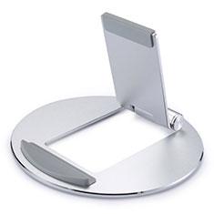 Supporto Tablet PC Flessibile Sostegno Tablet Universale K16 per Huawei MediaPad M6 8.4 Argento