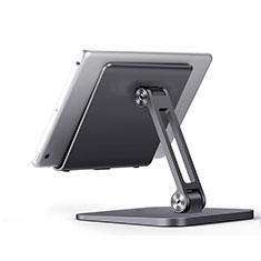 Supporto Tablet PC Flessibile Sostegno Tablet Universale K17 per Apple iPad New Air (2019) 10.5 Grigio Scuro