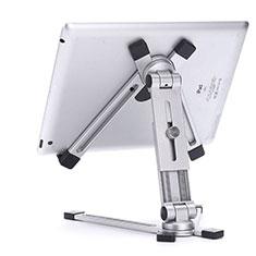 Supporto Tablet PC Flessibile Sostegno Tablet Universale K19 per Huawei MediaPad M6 8.4 Argento
