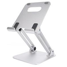 Supporto Tablet PC Flessibile Sostegno Tablet Universale K20 per Huawei MediaPad M5 8.4 SHT-AL09 SHT-W09 Argento