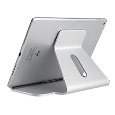 Supporto Tablet PC Flessibile Sostegno Tablet Universale K21 per Apple iPad Air 3 Argento
