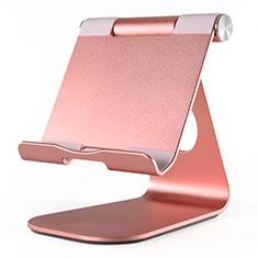 Supporto Tablet PC Flessibile Sostegno Tablet Universale K23 per Apple iPad Air 3 Oro Rosa