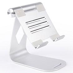 Supporto Tablet PC Flessibile Sostegno Tablet Universale K25 per Amazon Kindle Paperwhite 6 inch Argento