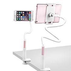 Supporto Tablet PC Flessibile Sostegno Tablet Universale T33 per Apple iPad 3 Oro Rosa
