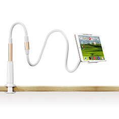 Supporto Tablet PC Flessibile Sostegno Tablet Universale T33 per Samsung Galaxy Note 10.1 2014 SM-P600 Oro