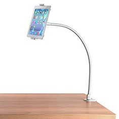 Supporto Tablet PC Flessibile Sostegno Tablet Universale T37 per Samsung Galaxy Note 10.1 2014 SM-P600 Bianco