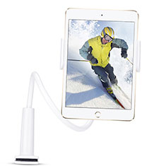 Supporto Tablet PC Flessibile Sostegno Tablet Universale T38 per Samsung Galaxy Tab S 10.5 SM-T800 Bianco