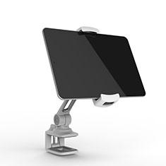 Supporto Tablet PC Flessibile Sostegno Tablet Universale T45 per Samsung Galaxy Note 10.1 2014 SM-P600 Argento