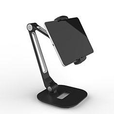 Supporto Tablet PC Flessibile Sostegno Tablet Universale T46 per Samsung Galaxy Note 10.1 2014 SM-P600 Nero