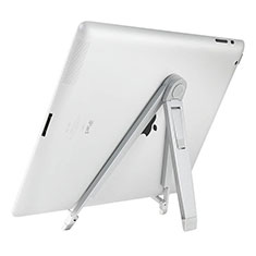 Supporto Tablet PC Sostegno Tablet Universale per Apple iPad 4 Argento