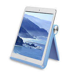 Supporto Tablet PC Sostegno Tablet Universale T28 per Samsung Galaxy Tab Pro 10.1 T520 T521 Cielo Blu