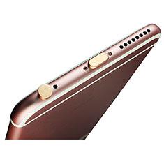Tappi Antipolvere Anti-dust Lightning USB Jack Antipolvere J02 per Apple iPad Air 3 Oro