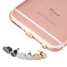 Tappi Antipolvere Anti-dust Lightning USB Jack Antipolvere J04 per Apple iPhone 6S Oro Rosa