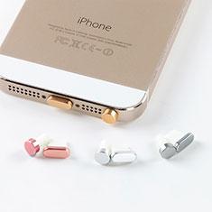 Tappi Antipolvere Anti-dust Lightning USB Jack Antipolvere J05 per Apple iPhone XR Oro