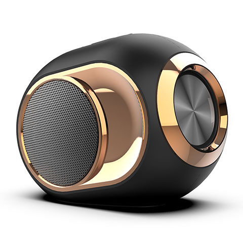 Altoparlante Casse Mini Bluetooth Sostegnoble Stereo Speaker K05 Nero