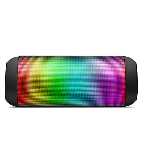 Altoparlante Casse Mini Bluetooth Sostegnoble Stereo Speaker S11 Nero