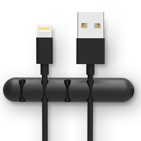 Cavo da USB a Cavetto Ricarica Carica C02 per Apple iPhone 11 Pro Nero