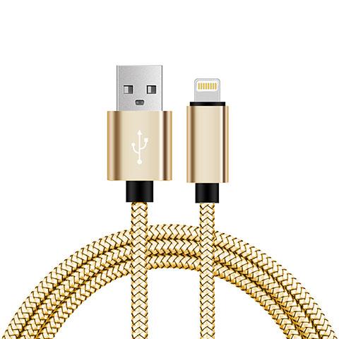 Cavo da USB a Cavetto Ricarica Carica L07 per Apple iPhone 11 Pro Oro