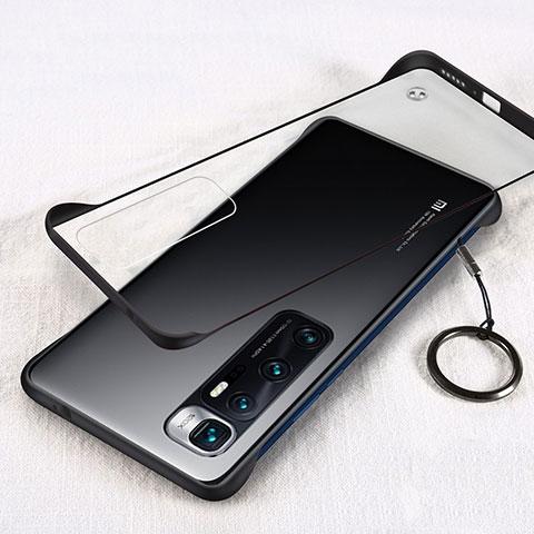 Cover Crystal Trasparente Rigida Cover H01 per Xiaomi Mi 10 Ultra Nero
