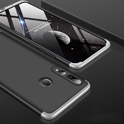 Custodia Plastica Rigida Cover Opaca Fronte e Retro 360 Gradi per Huawei Honor 20 Lite Argento