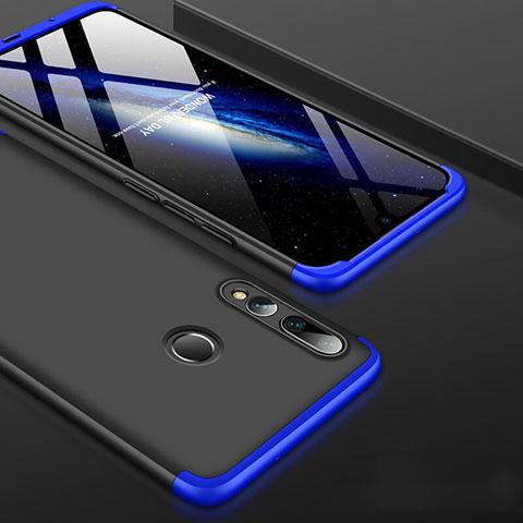 Custodia Plastica Rigida Cover Opaca Fronte e Retro 360 Gradi per Huawei Honor 20 Lite Blu e Nero