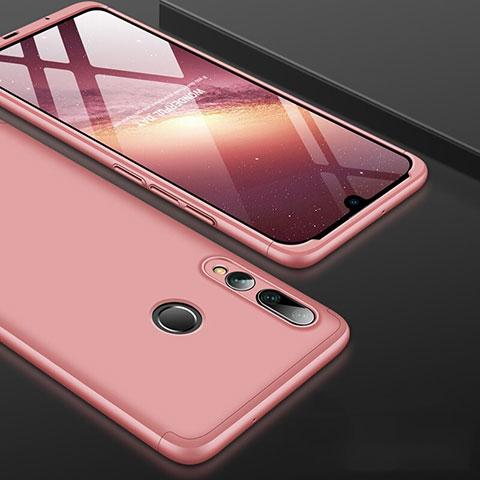 Custodia Plastica Rigida Cover Opaca Fronte e Retro 360 Gradi per Huawei Honor 20 Lite Oro Rosa
