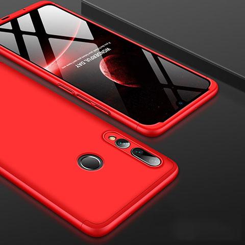 Custodia Plastica Rigida Cover Opaca Fronte e Retro 360 Gradi per Huawei Honor 20 Lite Rosso