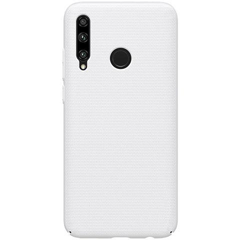 Custodia Plastica Rigida Cover Opaca M01 per Huawei Honor 20 Lite Bianco