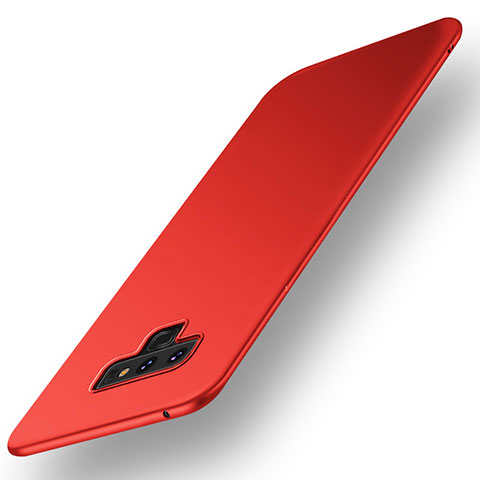 Custodia Plastica Rigida Cover Opaca M01 per Samsung Galaxy Note 9 Rosso