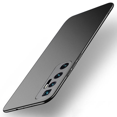 Custodia Plastica Rigida Cover Opaca M01 per Xiaomi Mi 10 Ultra Nero