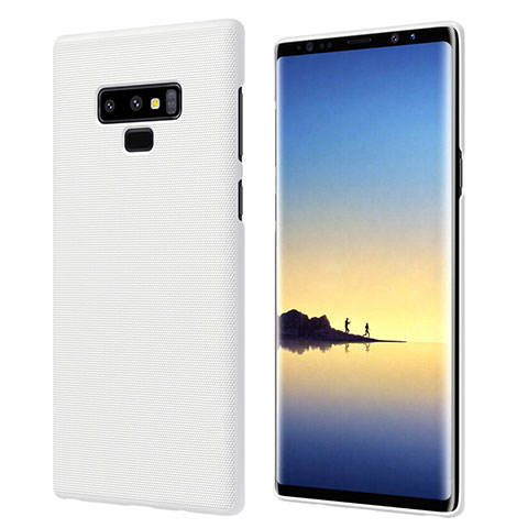 Custodia Plastica Rigida Opaca M04 per Samsung Galaxy Note 9 Bianco