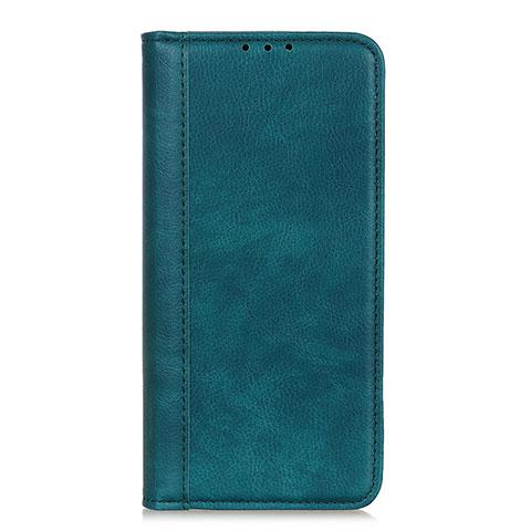 Custodia Portafoglio In Pelle Cover con Supporto L01 per Motorola Moto G9 Plus Verde