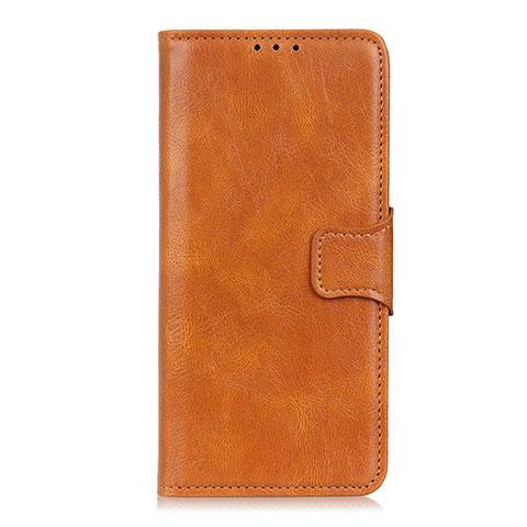Custodia Portafoglio In Pelle Cover con Supporto L03 per Oppo Reno3 A Arancione