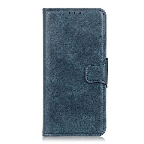 Custodia Portafoglio In Pelle Cover con Supporto L03 per Oppo Reno3 A Blu