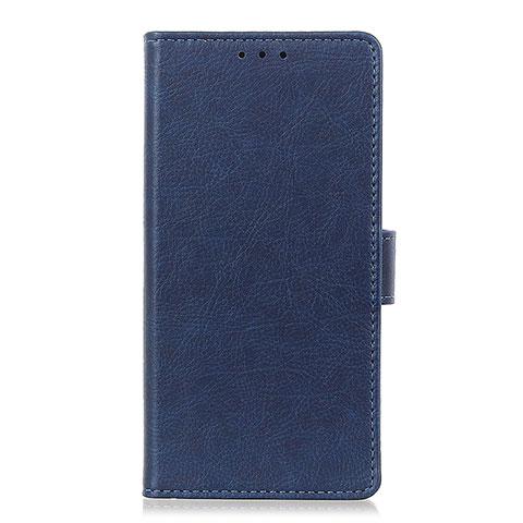 Custodia Portafoglio In Pelle Cover con Supporto L04 per Oppo Reno3 A Blu