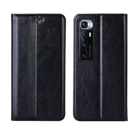 Custodia Portafoglio In Pelle Cover con Supporto L06 per Xiaomi Mi 10 Ultra Nero