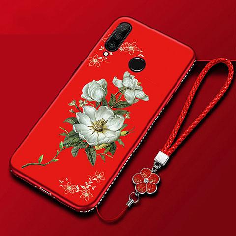 Custodia Silicone Gel Morbida Fiori Cover per Huawei Honor 20 Lite Colorato