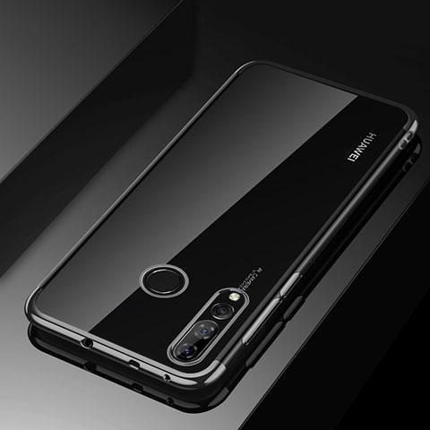 Custodia Silicone Trasparente Ultra Sottile Cover Morbida H03 per Huawei Honor 20 Lite Nero